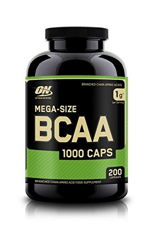 OPTIMUM NUTRITION Bcaa 1000 Support Musculaire pour Sportif 200 Capsules 140 g