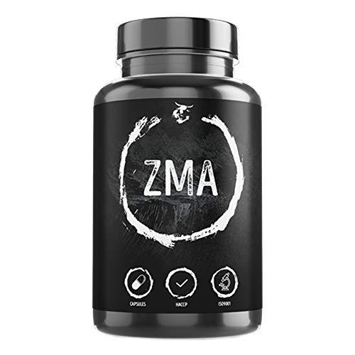 ZMA | 360 gélules végétales | dosage élevé | zinc + magnésium + vitamine B6 | favorise la construction et la fonction musculaire | qualité supérieure made in Germany