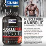 Usn Muscle Fuel Anabolique Acides Aminés Créatine Cookies & Cream 2 kg