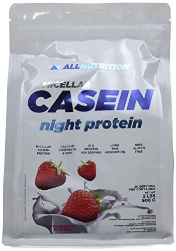 All Nutrition Poudre de Protéine de Caséine Micellaire Fraise