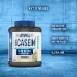 Applied Nutrition Supplément de Protéines de Caséine Micellaire Banane