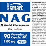 Supersmart – N-A-G 500 mg (N-Acetyl Glucosamine) – Contribue à une Mobilité, une Flexibilité et un Confort Articulaire Optimal | Sans OGM – 90 Capsules Végétariennes