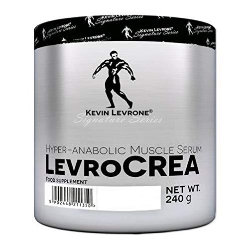 Kevin Levrone LevroCrea Paquet de 1 x 240g – Malate de Tricreatine – Monohydrate de Créatine – Chélate de Créatine et Magnésium – Chlorhydrate de Créatine (Apple Cranberry)