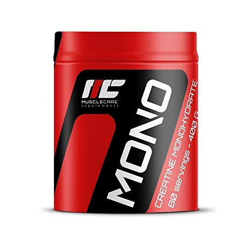 Muscle Care supplements I-NC, Muscle Care Mono Creatine 400g – monohydrate naturale