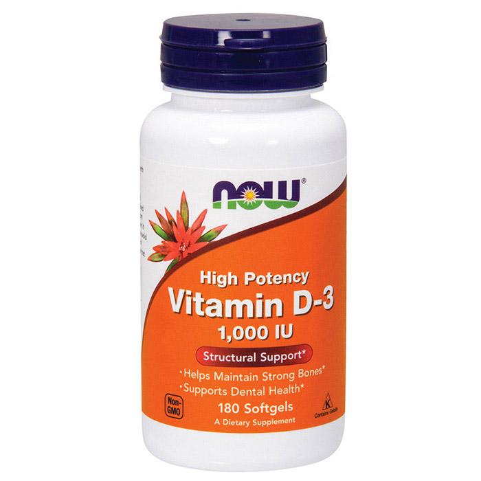 Vitamin D-3 1000 IU (180 softgels) - купить Витамины и Минералы NOW в Киеве и Украине. отзывы и ...