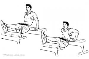 benchpress dip treningsprogram styrke