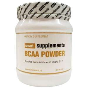 Bcaa Powder 500 gr de Smart Supplements