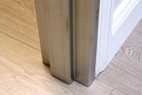 Patterned Stainless Steel Door Frame