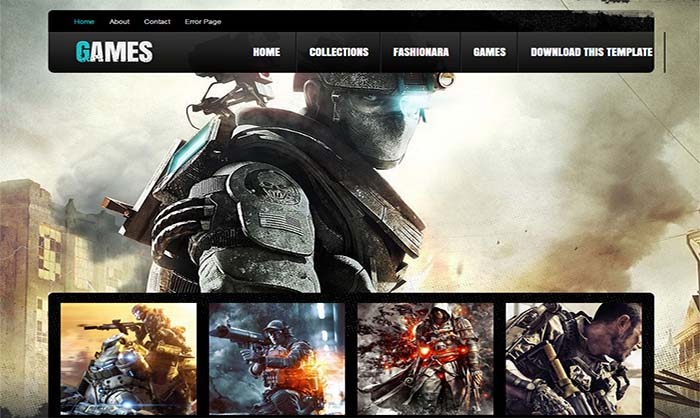 Games-Responsive-Blogger-Template