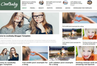 CoolBaby Blogger Template