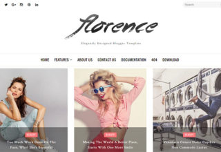 Florence Blogger Template