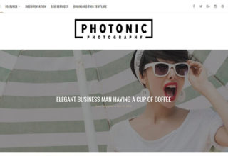 Photonic Blogger Template