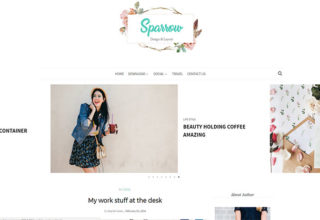 Sparrow Blogger Template