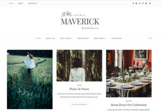 Maverick Blogger Template