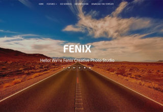 Fenix Blogger Template