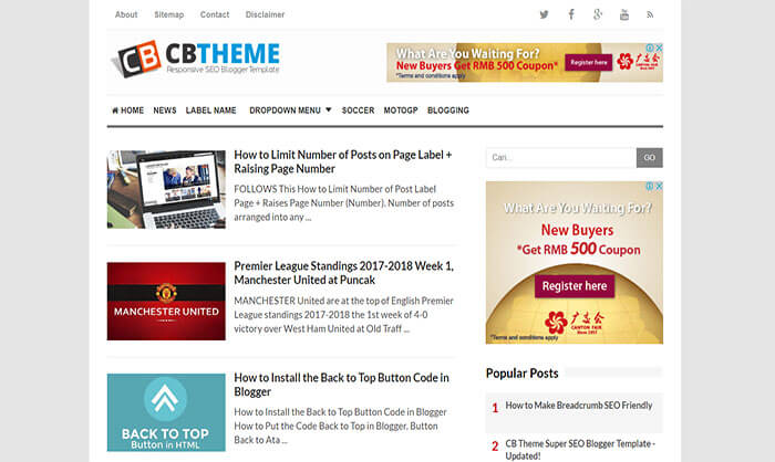 yahoo ecommerce templates - cb blogger template