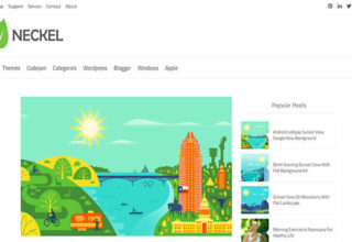 Neckel Blogger Template