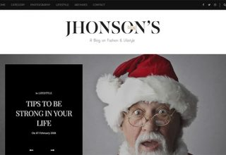 Jhonsons Blogger Template