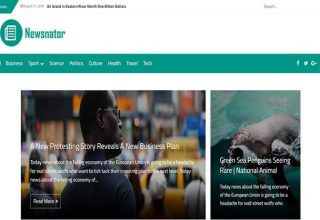 Newsnator Blogger Template