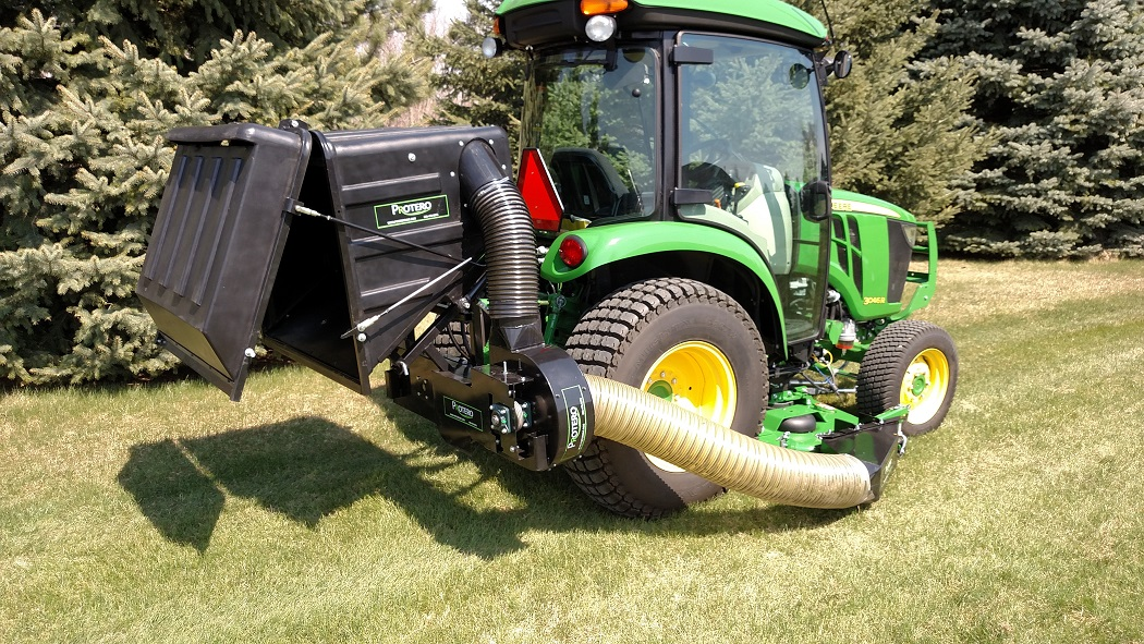 Lawn Vacuum Utility Tractor