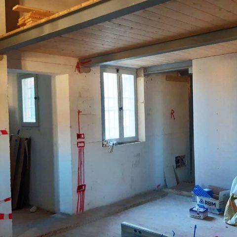 Ristrutturazione alloggio a Chiaravalle