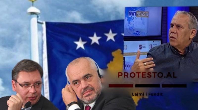 Kim Mehmeti: Për hir të 'vëllazërisë' me Serbinë, Rama i gatshëm të heqë dorë edhe nga njohja e Kosovës