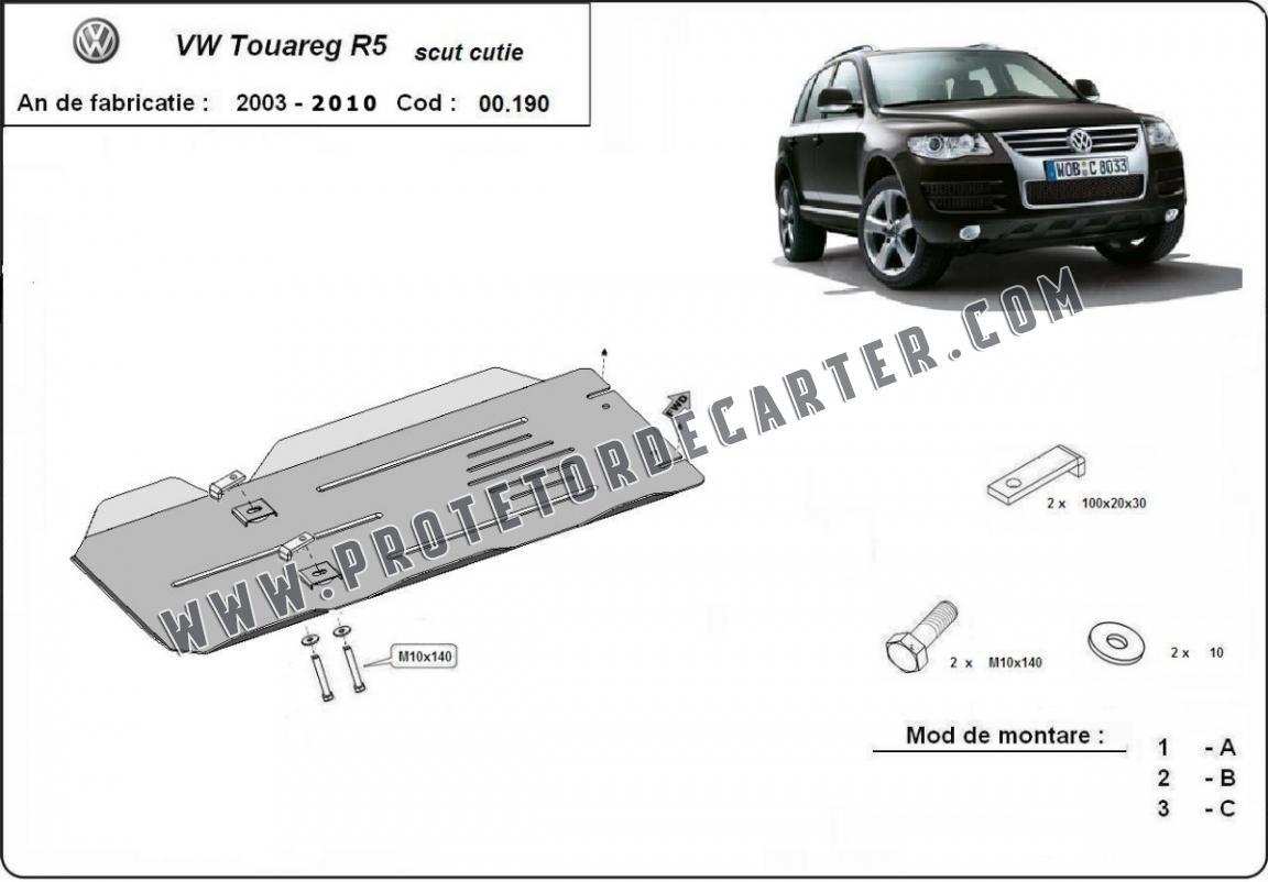 Protetor de caixa de velocidades manual de aço for VW