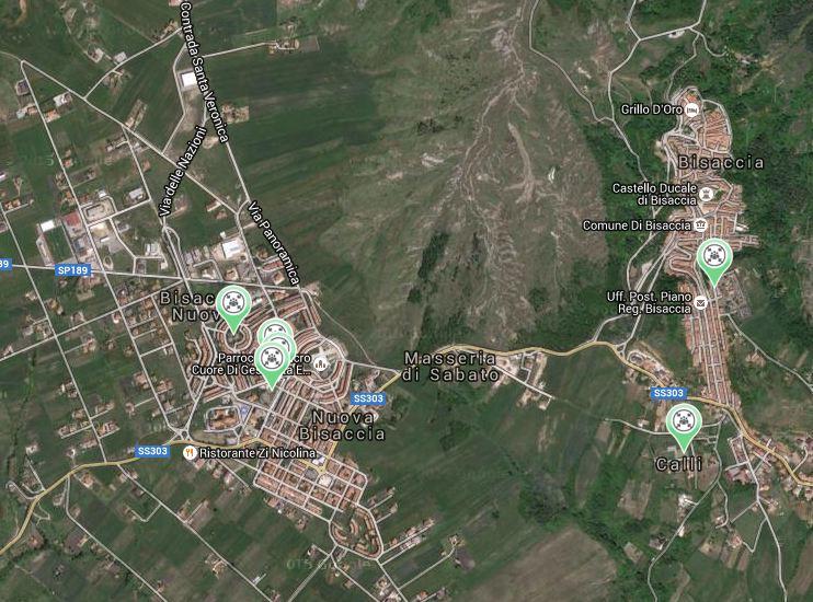 piano comunale BisaccIa