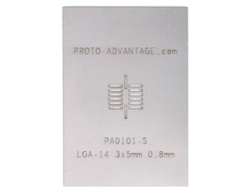 Proto Advantage  LGA14 08 mm pitch 3 x 5 mm body