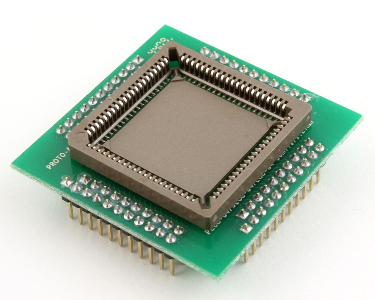 Proto Advantage  PLCC84 Socket to PGA84 Adapter 127