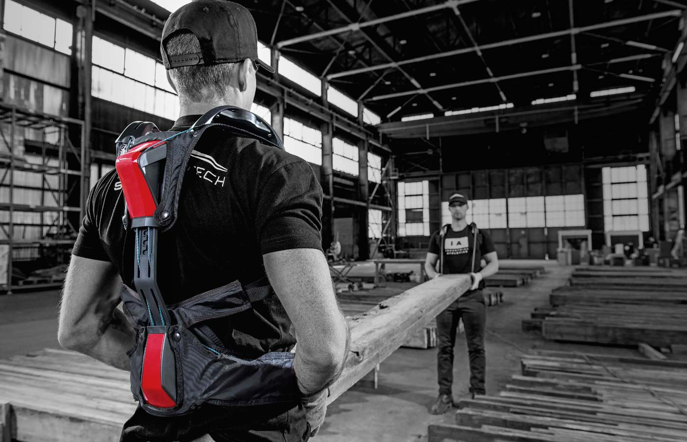 Strongarm Technologies  Dynamic back support for industrial workers