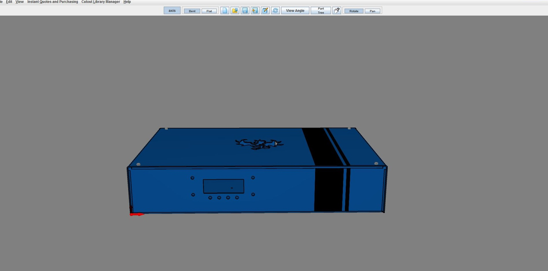 hight resolution of pd enclosure