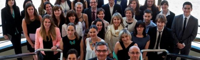 Alumnos y profesores Postgrado Protocolo UDC. Foto de Beatriz Císcar
