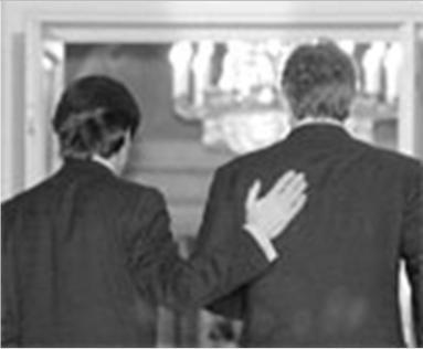 Aznar y Blair en la Moncloa