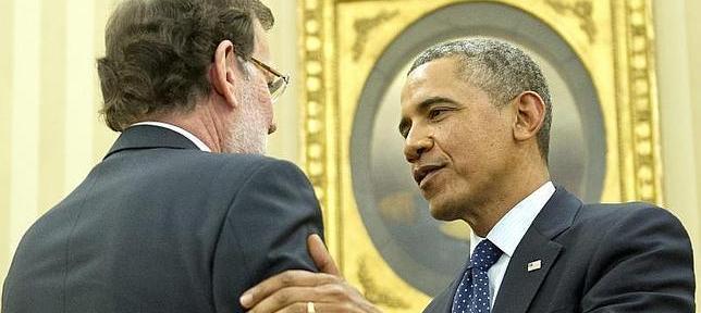 El saludo de Obama a Rajoy fue un saludo de cercanía y calidez