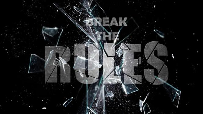 Para romper las reglas, primero hay que conocerlas.