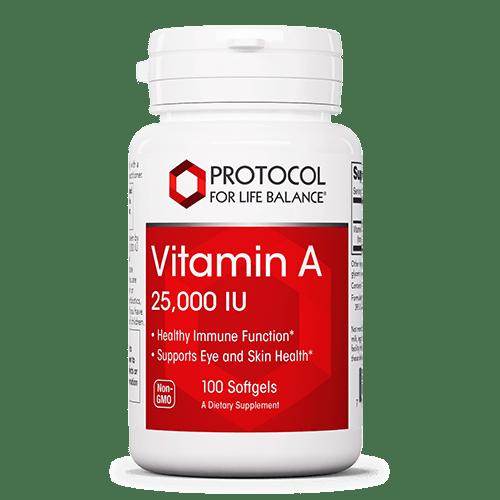 Vitamin A 25000 IU - Protocol 2020