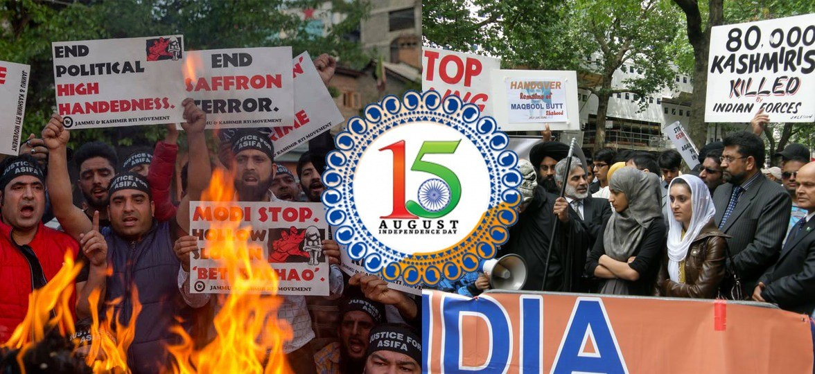 Kashmir and Sikh community announce Indian Independence Day Black Day
