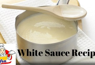 How To Make White Sauce At Home | Easy White Sauce Recipe