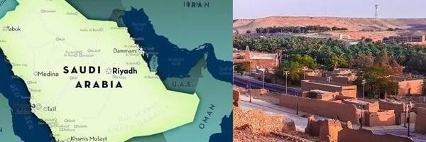 Saudi Arabia historic city