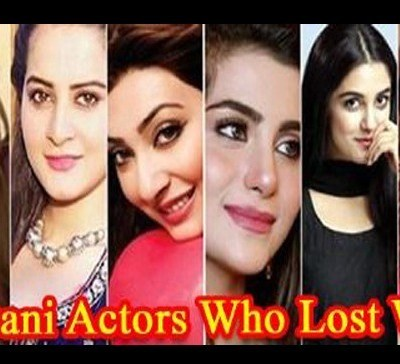 Pakistani Actress Who Lost Weight