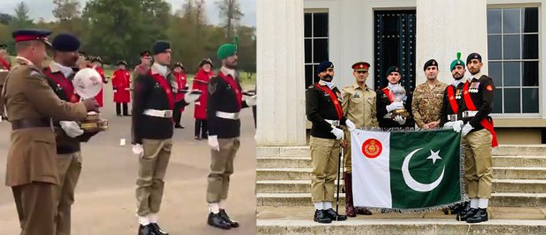 Pak Army Won an International Military Drill Competition