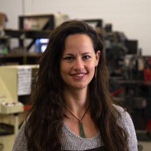 Sarah Nielsen, Wood Shop Instructor