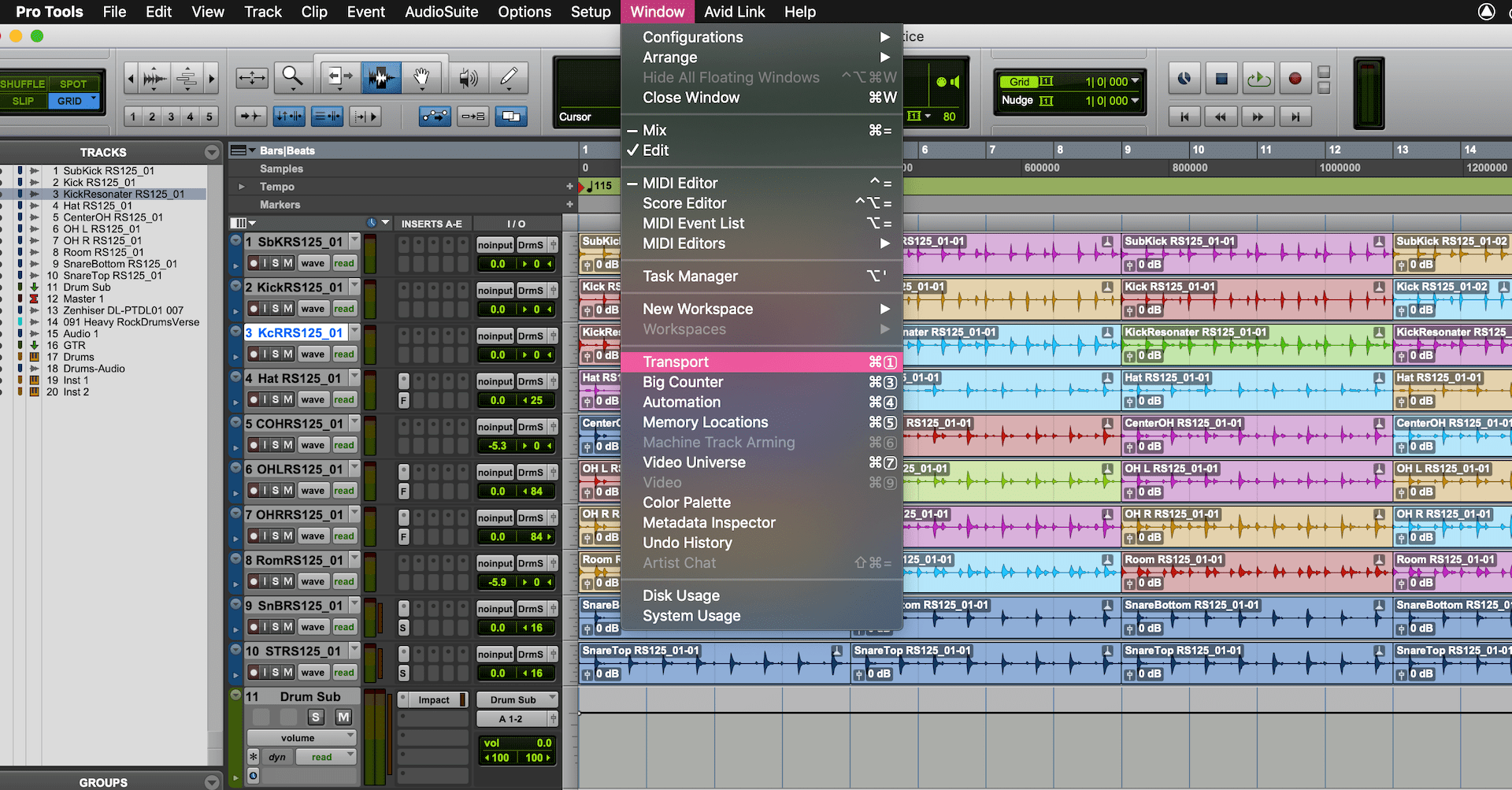 Pro Tools Keyboard Shortcuts: Speed Up Your Workflow
