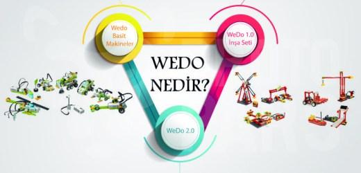 WeDo Nedir? Wedo 1.0 ve Wedo 2.0 Setlerinde Neler Vardır?