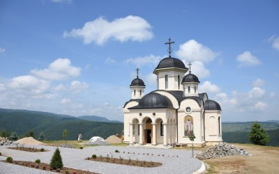 Hram la Mănăstirea Someșu Cald