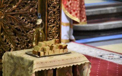 Împărțirea Paștilor in jud. Cluj