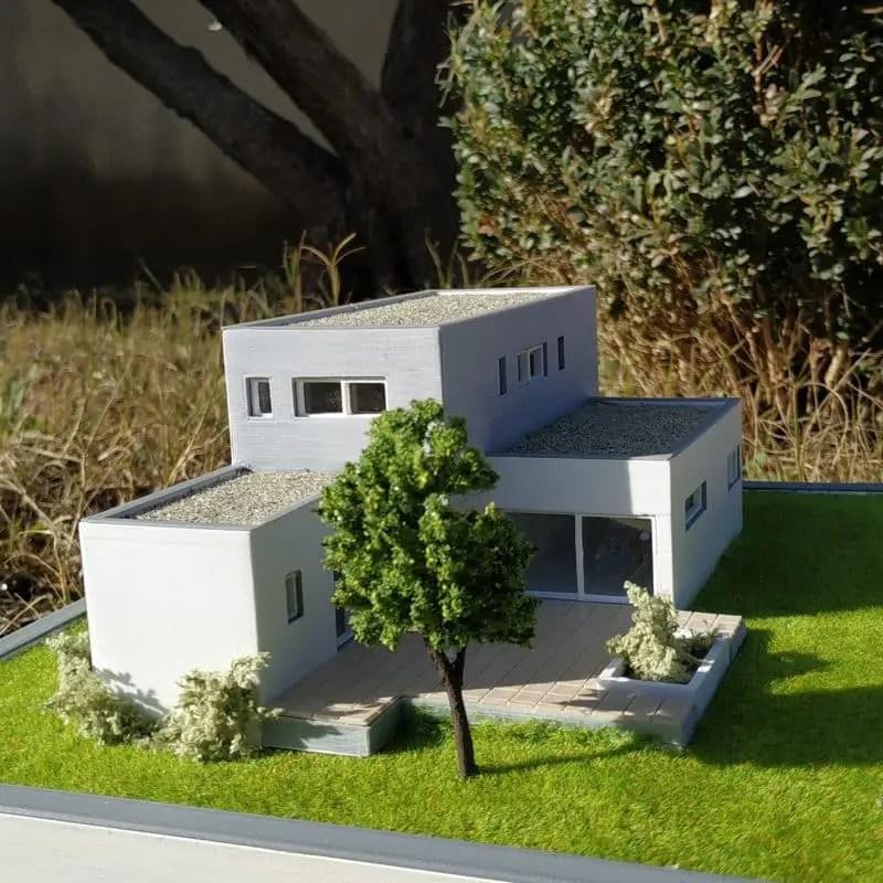 Maquette Maison Moderne | Ventana Blog