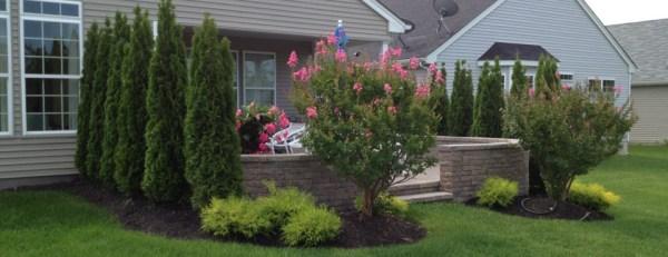 patio landscape proto's landscaping