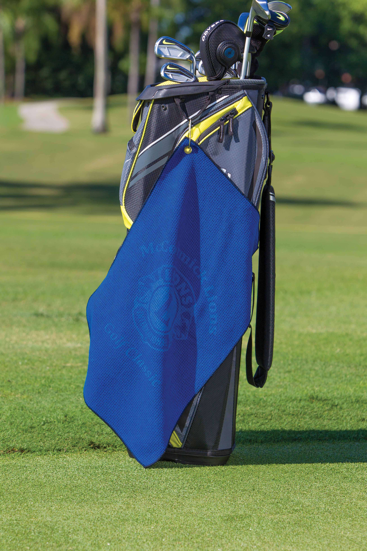 Microfiber Waffle Golf Towel  Pro Towels